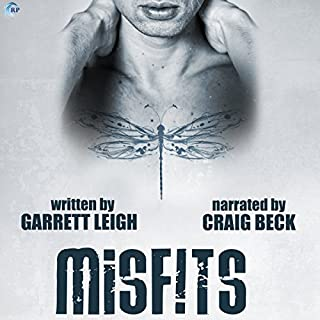 Misfits audiobook cover art