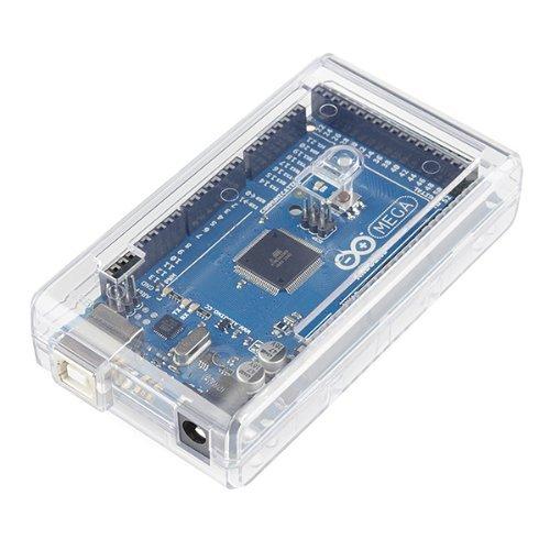 sb components Premium Mega 2560 Case Enclosure, Protective Clear Case Cover for Mega 2560