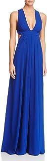فستان كريب بطبقتين من طبقتين من Jill Stuart برقبة غاطسة