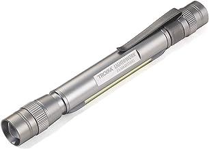 TROIKA zaklamp LIGHT@WORK - TOR51/TI - zaklamp met LED's (wit) - 4 functies: 2 diktes, knipperlicht, werklicht, 4-voudige ...