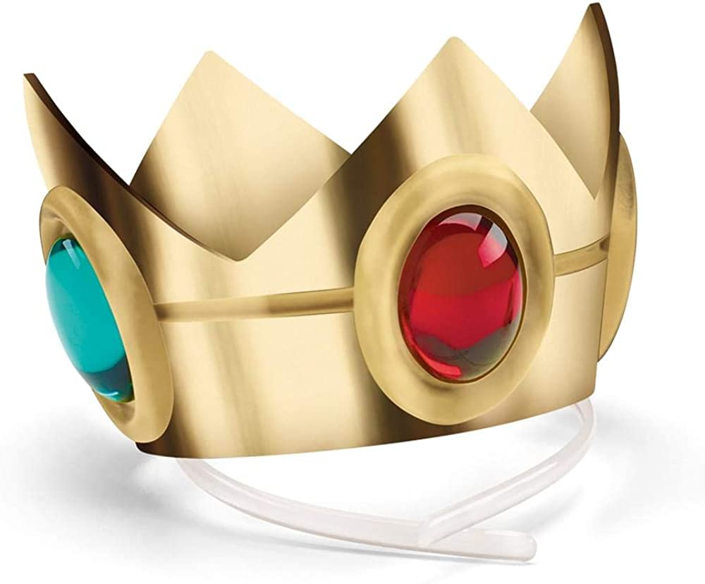 Adult Princess peach crown and wand Super Mario Princess Peach  Costume crown Princess Peach Crown Princess Peach cosplay crown