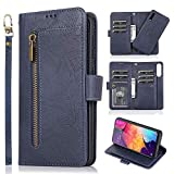 LCHULLE for Samsung Galaxy A70 Wallet Case 2 in 1 [Magnetic...