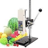GY-4 - Soporte de prueba para medidor digital de dureza de fruta y penetrometro
