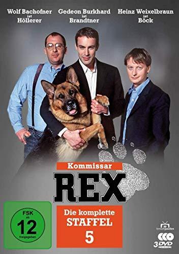Kommissar Rex - Die komplette Staffel 5 [3 DVDs]