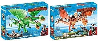 PLAYMOBIL 9458 Spielzeug - Raffnuss und Taffnuss mit Kotz und Würg Unisex-Kinder &  9459 Spielzeug - Rotzbakke und Hakenzahn Unisex-Kinder