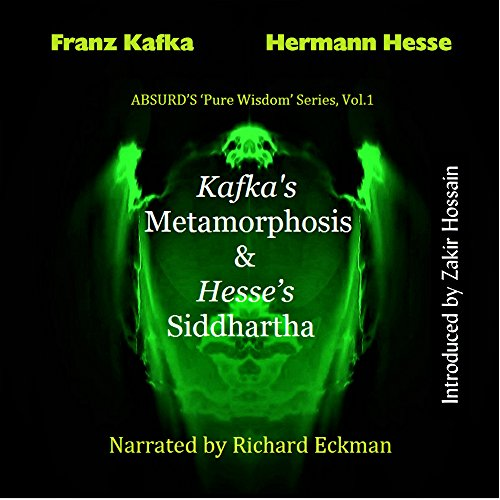 Kafka's Metamorphosis and Hesse's Siddhartha audiobook cover art