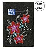 OXFORD 100738390 Blooming Agenda Scolaire journalier 2019-2020 1 Jour par Page 352 pages 12x18 Flower