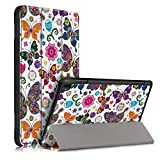 KuRoKo Case for All-New Amazon Fire HD 8 Tablet and Fire HD 8 Plus (10th Generation, 2020 Release), Smart Cover with Auto Sleep/Wake
