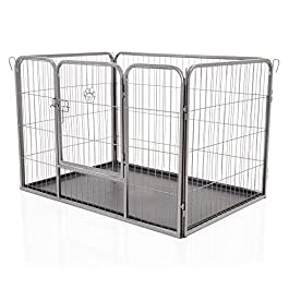 COZY PET Heavy Duty Playpens, 14 Models 4-10 Panels and 60cm to 100cm in height
