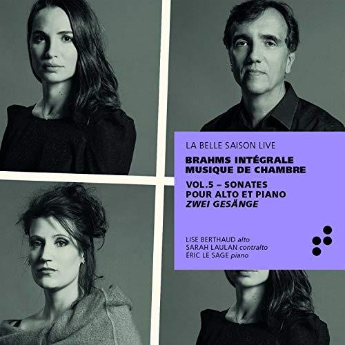 Brahms: Sonate Op. 120 1 & 2 / Gesänge für Alt & Klavier