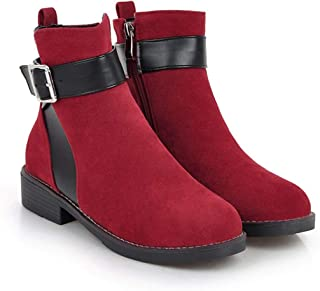 Spring Autumn Woman Flat Ankle Chelsea Boots Women Flats Casual Shoes Short Boots