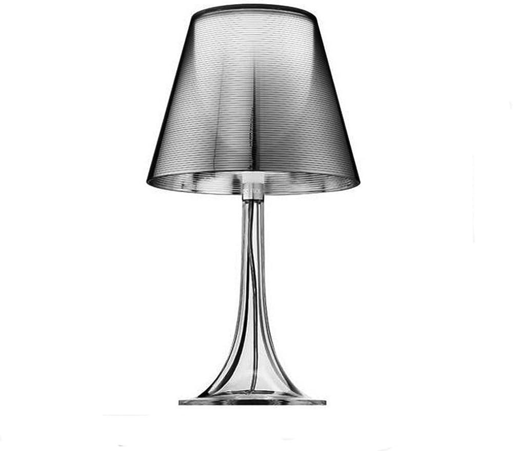 Flos miss k t lampada, e27, 70 watts, alluminato argento F6255000