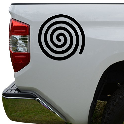 Rosie Decals Celtic Spiral Egyptian Die Cut Vinyl Decal Sticker for Car Truck Motorcycle Window Bumper Wall Decor Size- [8 inch/20 cm] Wide Color- Matte Black