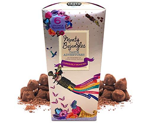 Monty Bojangles Taste Adventures Kakao bestäubtes Pralinen Sortiment, Kronen Geschenk, 285g