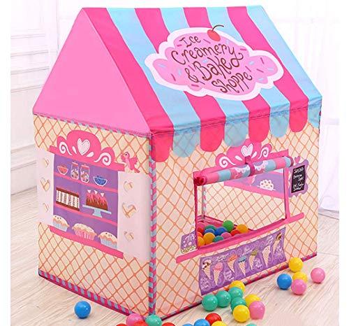 BeneBomoこどもテント テント子供用 キッズテント 女の子 Kids Tent テントボールハウス 子供 ボールプール こども用 プレイテントハウス キャリーバッグ付き おままごと おもちゃ収納 ピンク