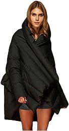 Veste de Type Manteau en Duvet pour Femme