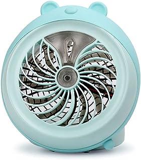 El Ventilador de Aerosol de Mascotas Lindo de Segunda generación, Carga USB, Ventilador de Escritorio Mini Fan Aerosol por...