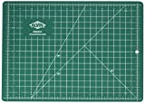Alvin, GBM Series Professional Self-Healing Cutting Mat, Green/Black Double-Sided, Gridded Rotary Cutting Board for Crafts, Sewing, Fabric - 8.5 x 12 inches (Kitchen)