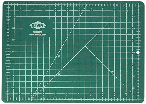 Alvin, Professional Self-Healing Cutting Mats, 8.5 x 12 Inches