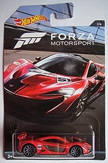 Hot Wheels 2017 Forza Motorsport McLaren P1 2/6, Red