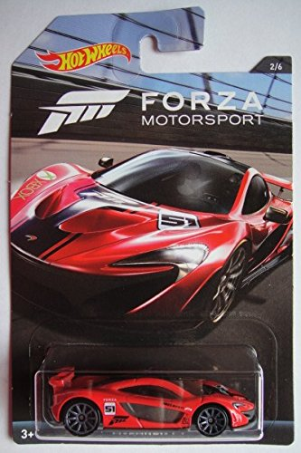McLaren P1 Forza 2/6 XBOX 1:64 Hot Wheels DWF33 DWF30