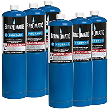 Standard Propane Fuel Cylinder - Pack of 6