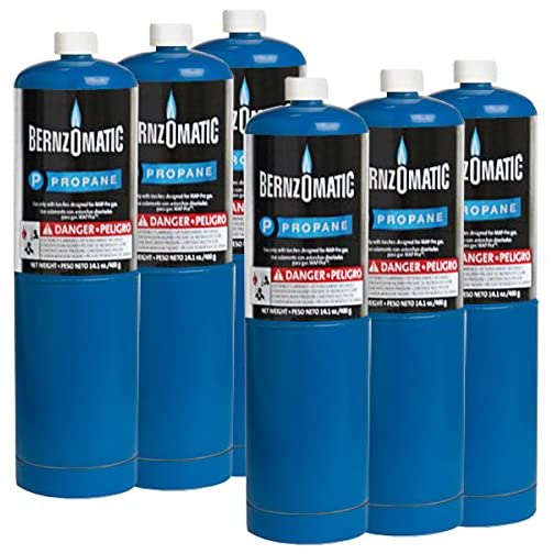 Standard Propane Fuel Cylinder - Pack of 6 3