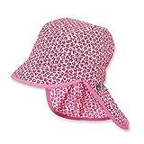 Sterntaler Schirmmütze für Mädchen mit Nackenschutz
