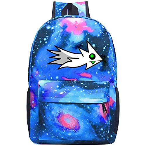 Star School Bag Geometry Ship Dash Fashion Satchel Galaxy Backpack for Student Kids Boys Girls