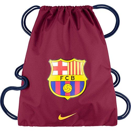 NIKE Gymsack 3 Allegiance Barcelona - Bolsa para Hombre, Color Rojo/Azul/Amarillo/Blanco, Talla...