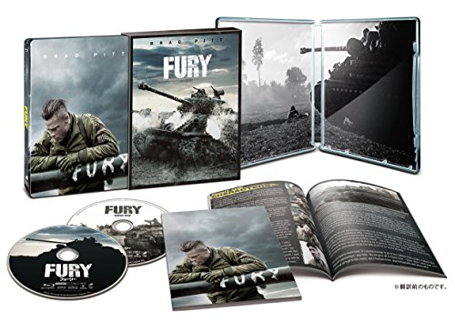 Fury - Herz aus Stahl - Exklusiv Japan Limited Steelbook Edition (International) im Schuber (Japanese Design) Uncut + Regionfree - Blu-ray