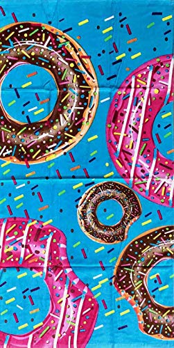 Toalla estampada Donuts toalla playa 100% algodón