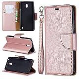 JOMA E-Shop For Nokia 1 Plus 2019 Case Flip Cover TPU&PU