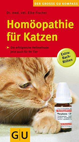 Dr. Fischer, Elke:<br />Homöopathie für Katzen