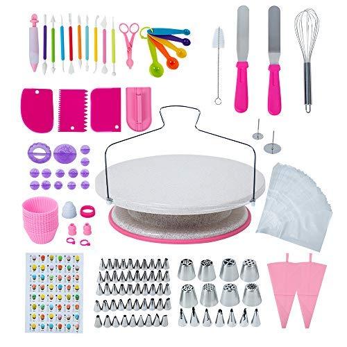 clasificación y comparación 234 Esonmus para decorar tartas, glaseados, rusos, tocadiscos … para casa