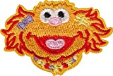 Sesame Street - Zoe Face - Embroidered Iron on Patch