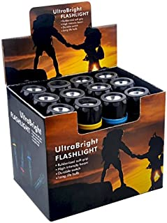 12pc Bulk Wholesale LED Flashlights