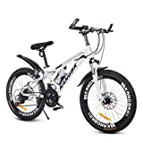 YJTGZ Fahrräder Erwachsene Student Mountainbike Outdoor-Mountainbike Männliche Und Weibliche Fahrräder Outdoor-Reise-Adventure-Bike 20 Zoll 22 Zoll Geschwindigkeit Einstellbar Fahrrad