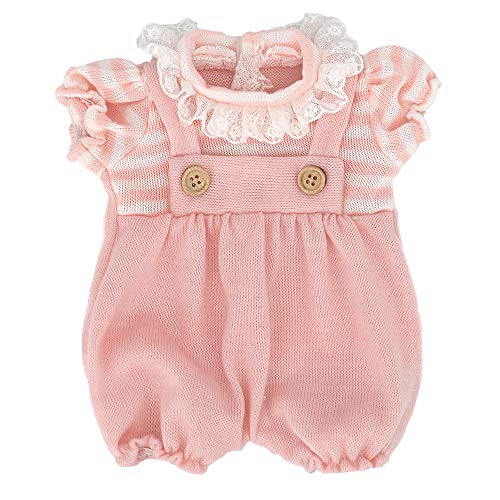 "ZWOOS Ropa de Muñecas para New Born Baby Doll, Lindo Atuendo de Algodón para 18 \"" Muñecas (40-45 cm)"