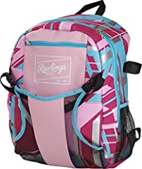 Ideal For Youth TBALL Players, this is the perfect bag for players looking for an easy -to-carry backpack with unmatched style and quality Ultimate Functionality - This backpack has a large interior pocket, and adjustable helmet holder, a small valua...