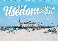 Insel Usedom - It's Summer Time (Wandkalender 2022 DIN A2 quer): Sommer auf der Insel Usedom (Monatskalender, 14 Seiten )