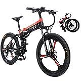Sea blog Vélo de Montagne Électrique 26' e-Bike VTT Pliant avec Batterie Lithium-ION à Grande...