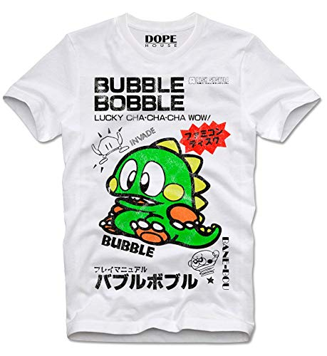 Bubble Bobble Retro Gamer T-shirt, S to XL