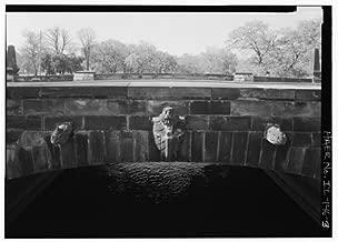 HistoricalFindings Photo: South Bridge,Jackson Park Lagoon,Chicago,Cook County,Illinois,IL,HABS,2