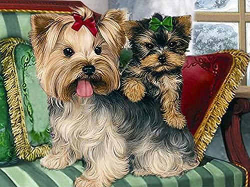 ZMGYA Puzzle Infantil, 1000 Piezas,dog-1500Edad Recomendada 8+ Rompecabezas de Madera Personalizable con tu Propia Imagen