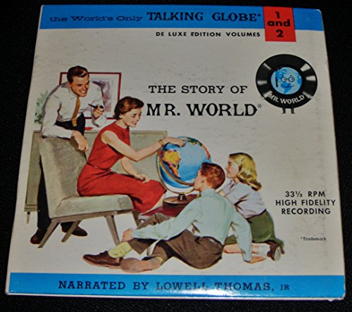 Replogle Globes, Inc Presents The Story of Mr. World Vol. 1 and 2 (2 - 45rpm records & booklet insert)