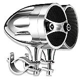 KSPEAKER Motorcycle Speakers Bluetooth Waterproof Radio, 3 Inch Metal Mp3 Player, Great for ATV, Scooter Bike,12 Volt Vehicle, Audio System, S7CH
