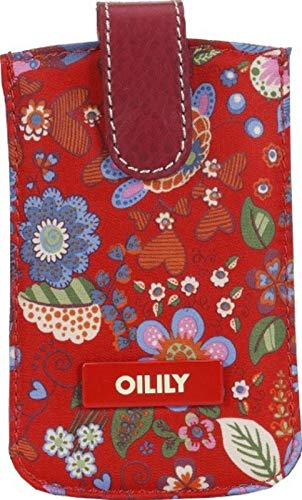 Oilily Winter Blossom iPhone 4/4S Hülle Pull Case - Scarlett