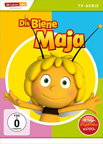 Die Biene Maja - Komplettbox, Staffel 1, 78 Folgen [12 DVDs]