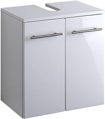 möbelando Waschbeckenunterschrank Waschbeckenschrank Unterschrank Badezimmer Bad Parma